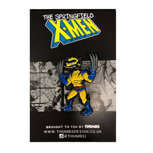 Willverine Springfield Mutants Pin