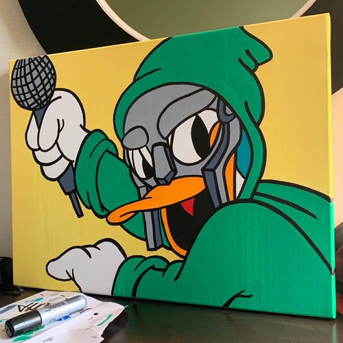 Donald DOOM Painting on Canvas