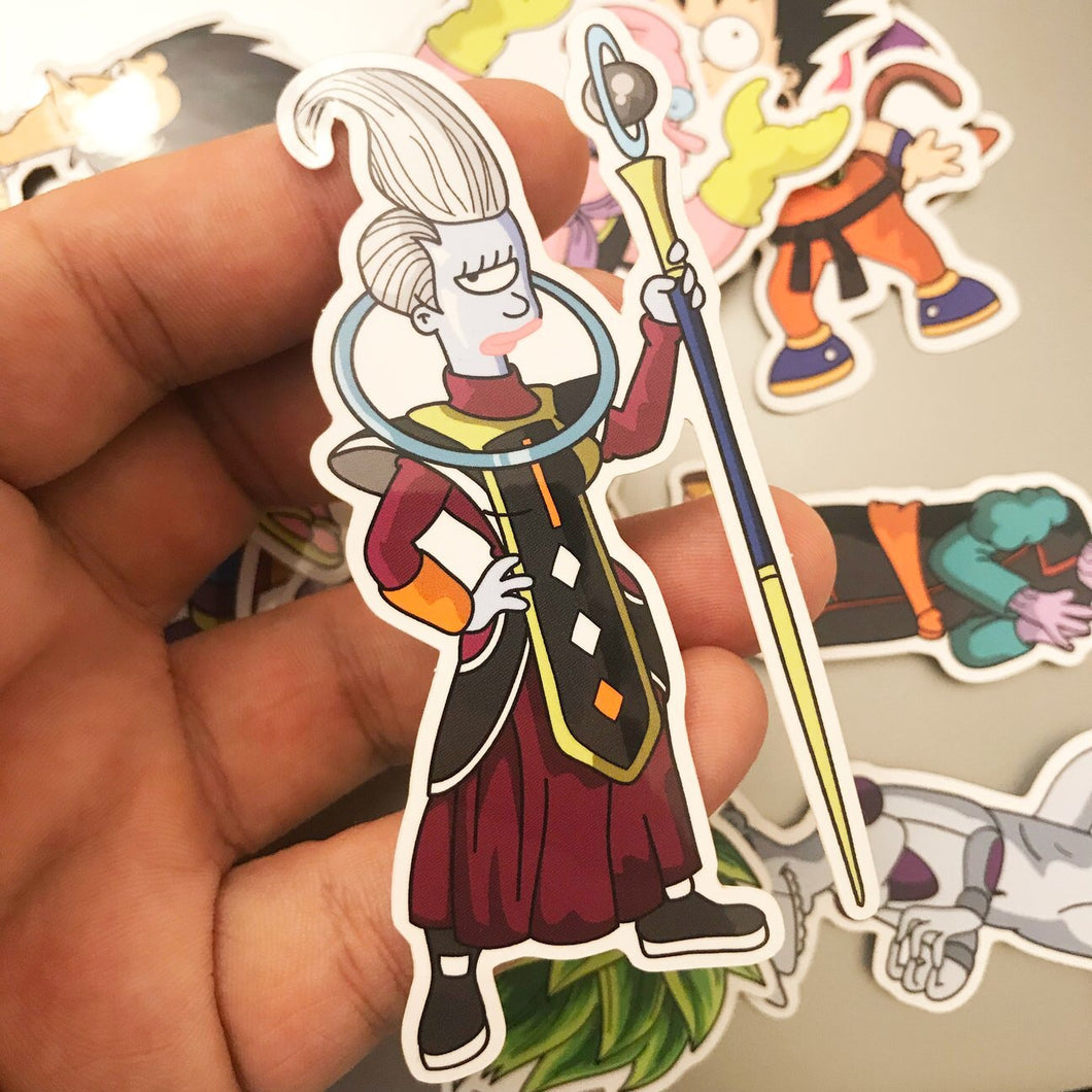 Leewhis x DBZ Sticker