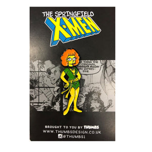 Maude Grey Springfield Mutants Pin