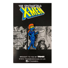 Margstique Springfield Mutants Pin