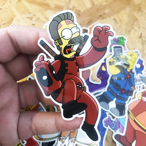 Nedpool Springfield Mutants Sticker