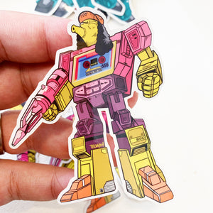 Ottobot Springformers Pin Badge