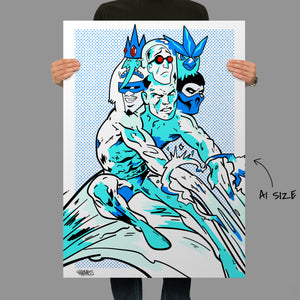 Self Loathing Ice Giclee Fine Art Print
