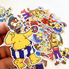 E-Homerr Springfield Fighters Sticker