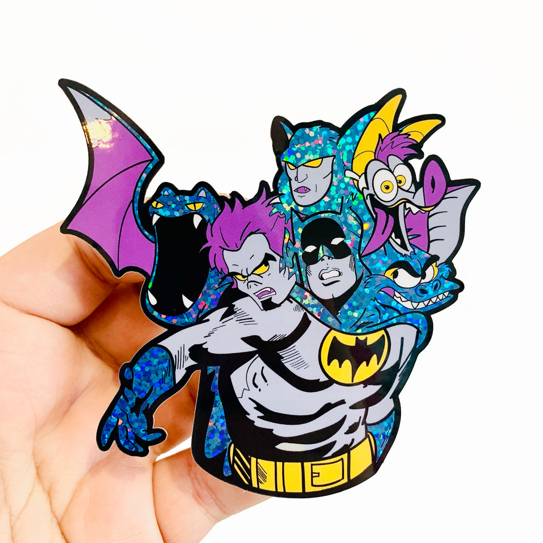 Self Loathing Bats Sticker