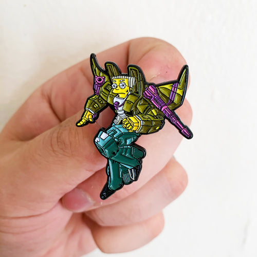 Smnithersbot Springformers Pin Badge