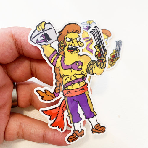 Snega Springfield Fighters Sticker