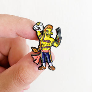 Snega Springfield Fighters Pin Badge