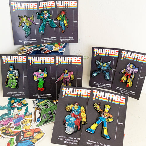 Springformers Pin Badge Set