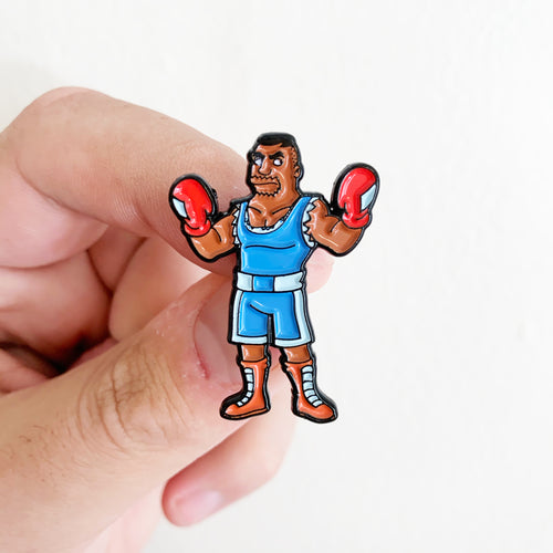 Drederick Balrog Springfield Fighters Pin Badge