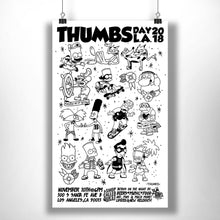 Thumbs Day L.A. 2018 Art Print