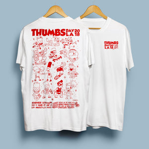Thumbs Day L.A. 2018 T-Shirt Red