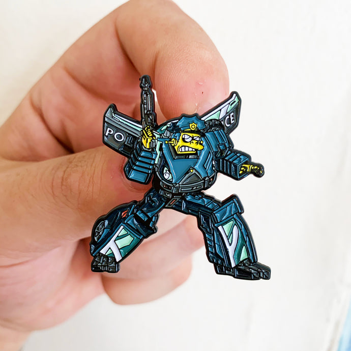 Wiggumbot Springformers Pin Badge