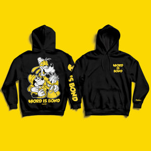 Word Is Bond Pullover Hoody
