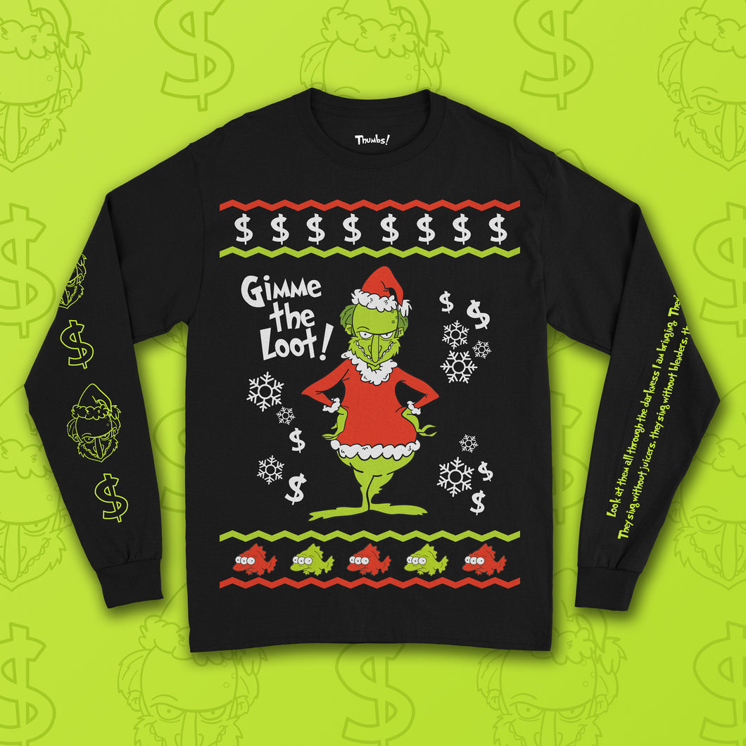 Grinchmas Long Sleeve T-Shirt
