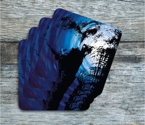 Elephant - Coasters - Pack of 4