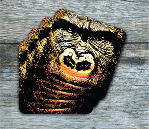 Coasters - Gorilla - Coasters - Pack Of 4