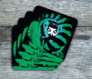 Coasters - Lemur - Coasters - Pack Of 4