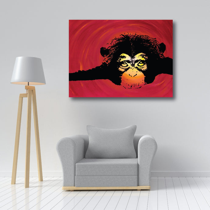 Collectors Edition Prints - Chimpanzee - Collectors Edition