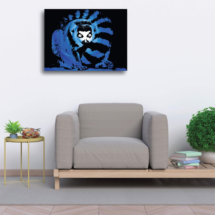 Luxury Stretched Canvas (Large) - Lemur - Luxury Canvas (Large)