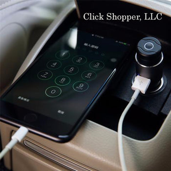 ROCK Wireless Bluetooth earphone& Hammer Car Charger Bluetooth headset and Car Phone Charger 2 in 1