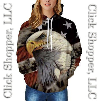 New Fashion Eagle 3D Print Sweatshirts