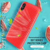 Silicone Cooling protection case for iPhone X