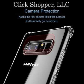 Heavy Anti-Knock Protection Case for Samsung Galaxy Note 8 Transparent