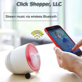 Mini Bluetooth Speaker with Fan for Hot Summer