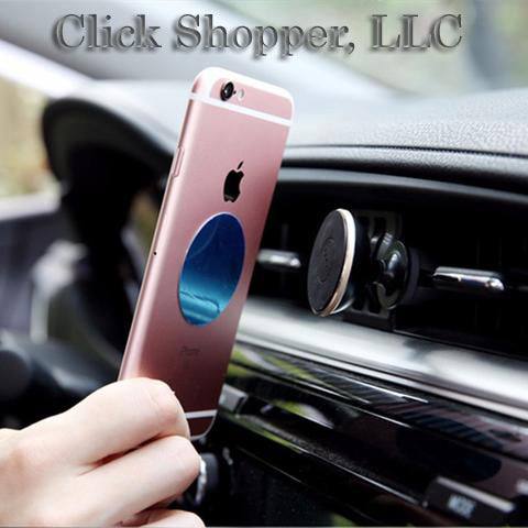 ROCK Magnetic Car Phone Holder, Mini Air Vent Outlet Mount  Magnetic Phone Mobile Holder Universal For iphone Samsung Car Stand