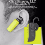 ROCK Mono Series Bluetooth Earphone, Bluetooth 4.1 Headset D200 Noise Canceling Headphones