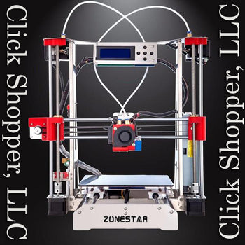 Optional Dual Extruder Full Metal Reprap Prusa i3 3D Printer