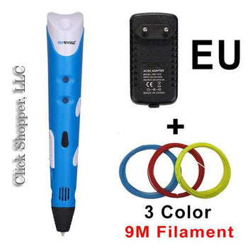 3D Drawing Pen Printer With Free Filament