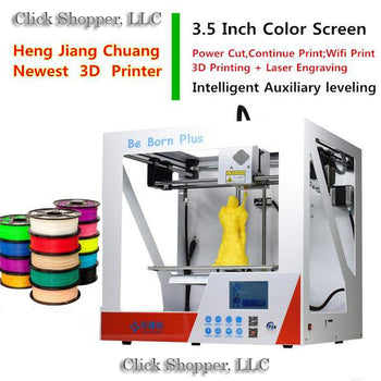 Intelligent Auxiliary Leveling 3D Printer