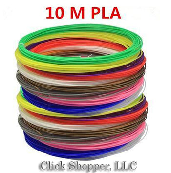 2017 new 10 meters 1.75MM PLA silk