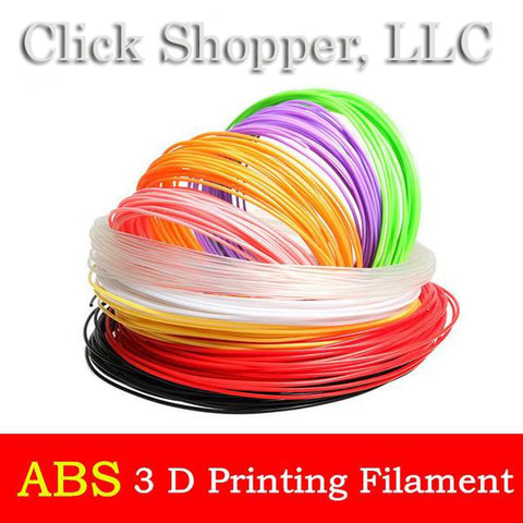High Quality 3D ABS Filament For 3D Printing Pen