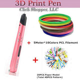 sixth Generation Low Temperature 3D Pens