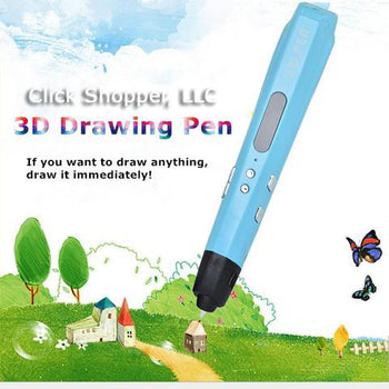 Authentic 2 Color 3D Magic Pen With Free PLA Filament