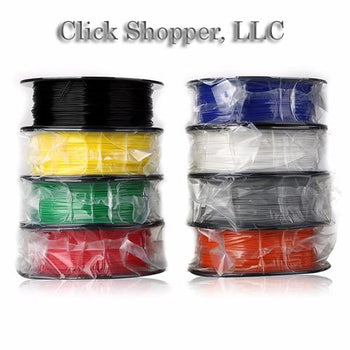 8pcs/pack 3D-Printer-ABS-Plastic 3D Filament