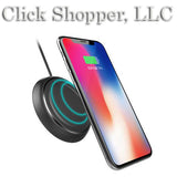 Wireless Charger Fast Charging Pad For iPhone X 10 8 Samsung Note 8 S8 Plus S7 S6 Edge