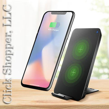 Wireless Charger 10W For iPhone X 8 Samsung Note 8 S8 Plus S7 S6 Edge