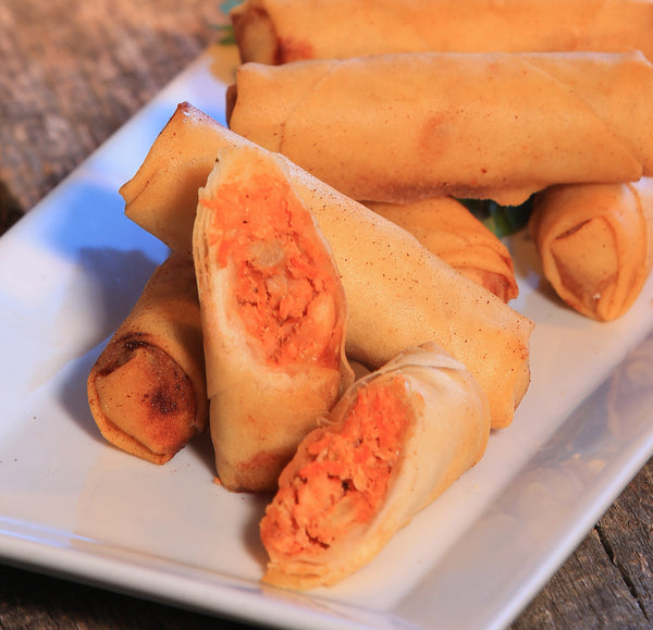 Buffalo Chicken Spring Roll