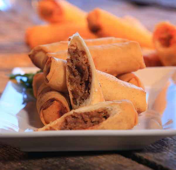 Philly Cheesesteak Spring Roll