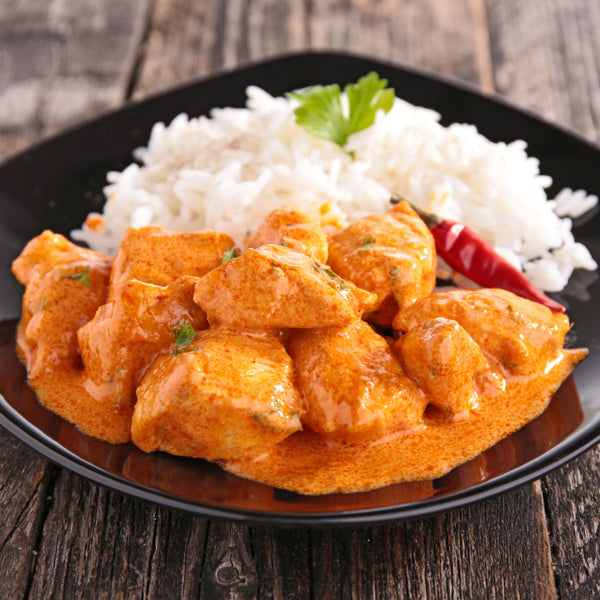 Curry Chicken with Jasmine Rice