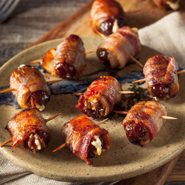 Dates with Blue Cheese and Pancetta