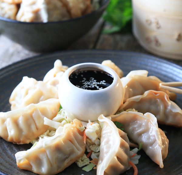 Kung Pao Potstickers