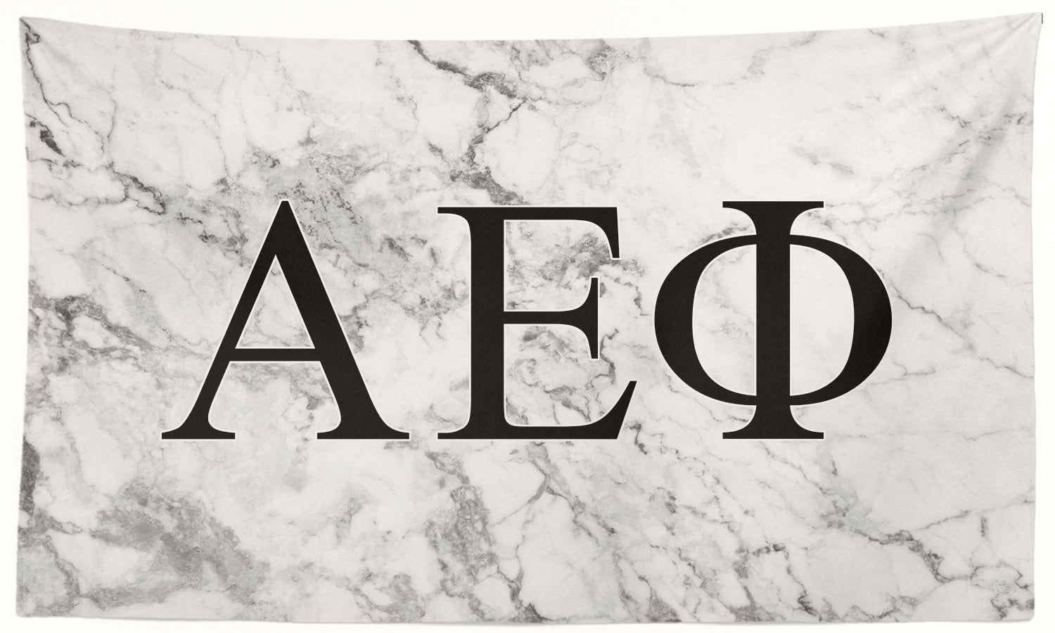Alpha Epsilon Phi - White Marble - 3' x 5' Flag