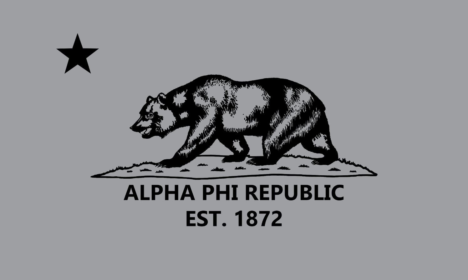 Alpha Phi Republic 3' x 5' Flag