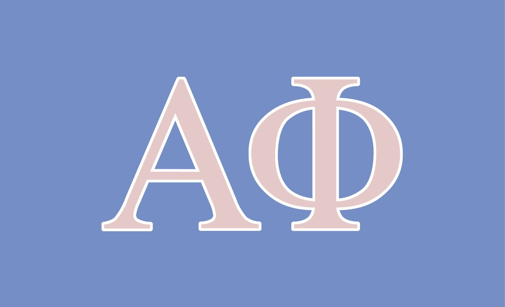 Alpha Phi Light Purple 3' x 5' Flag